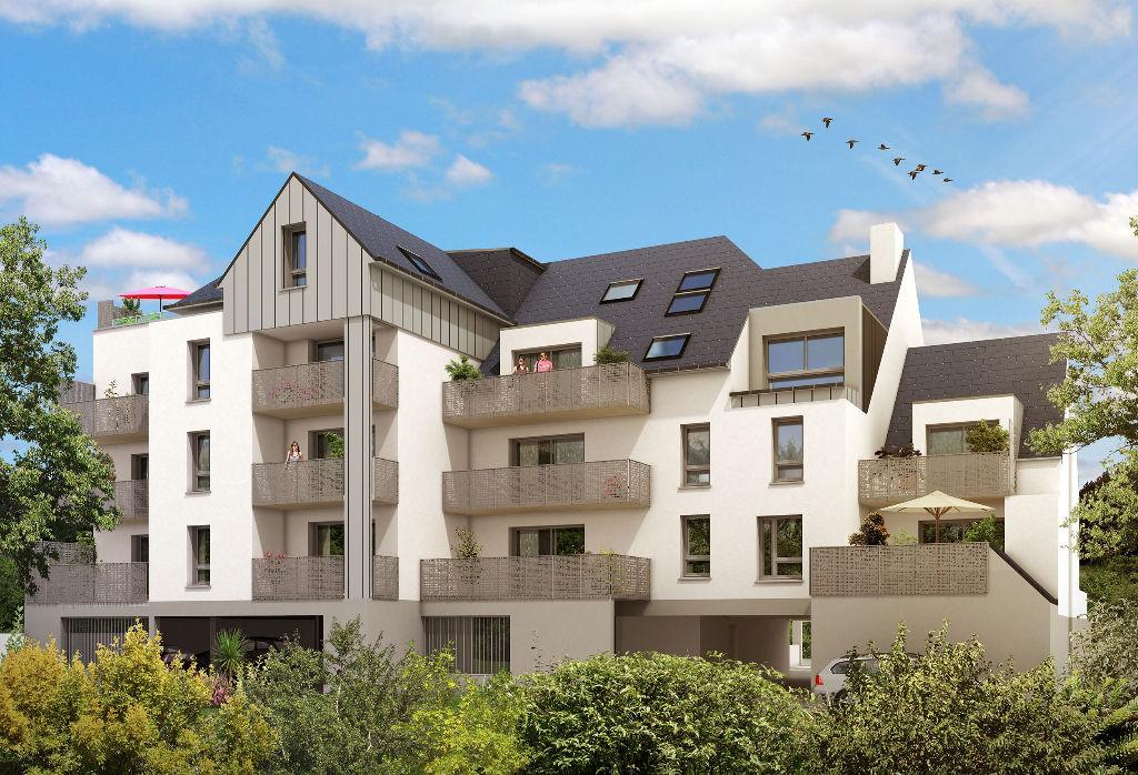Appartement neuf trois pièces dans une résidence avec ascenseur à St-Malo, quartier de Rocabey. La plage et les commerces sont à proximité !