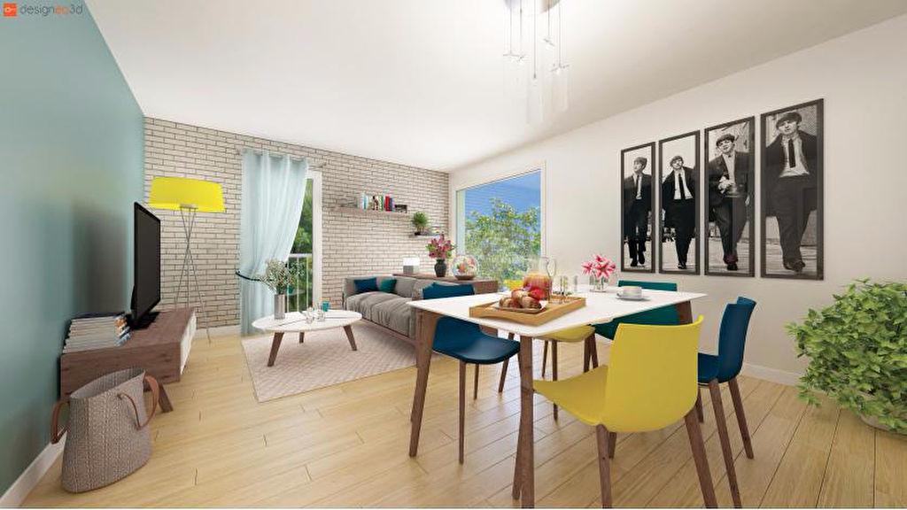 Appartement  neuf à Rennes T3  quartier LE BLOSNE