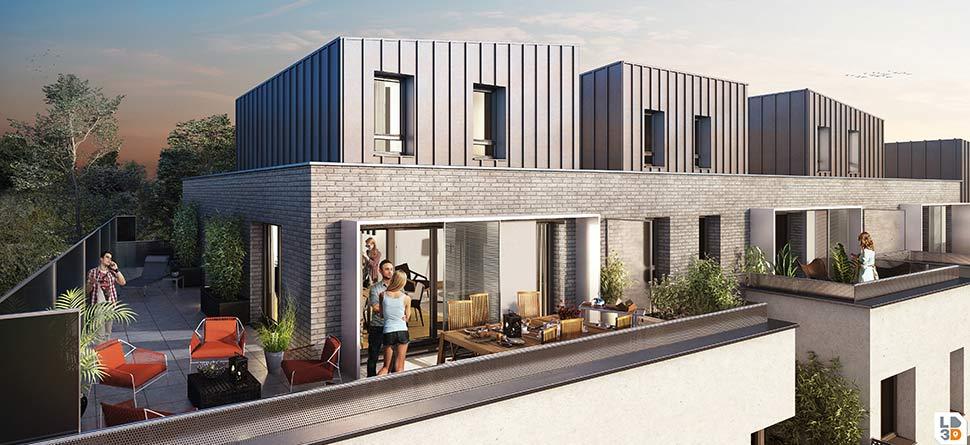 Appartement  neuf  trois pièces à Saint-Malo