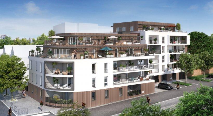 Vente appartement NEUF  deux pièces à Rennes