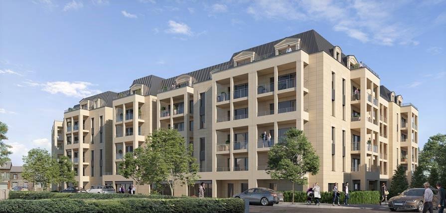 Appartement neuf trois pièces, au centre de Dinard