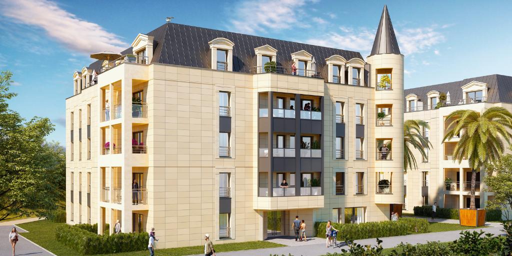 Grand appartement neuf trois pièces au centre de Dinard, à deux pas de la place du marché