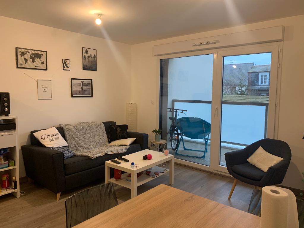 A louer appartement neuf deux pièces de 43.61 m² à Saint-Malo