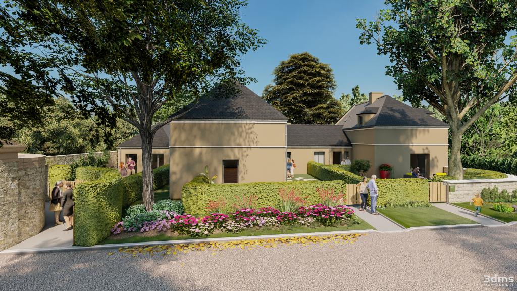 Maison neuve de plain pied avec trois chambres à St-Malo, quartier de Paramé