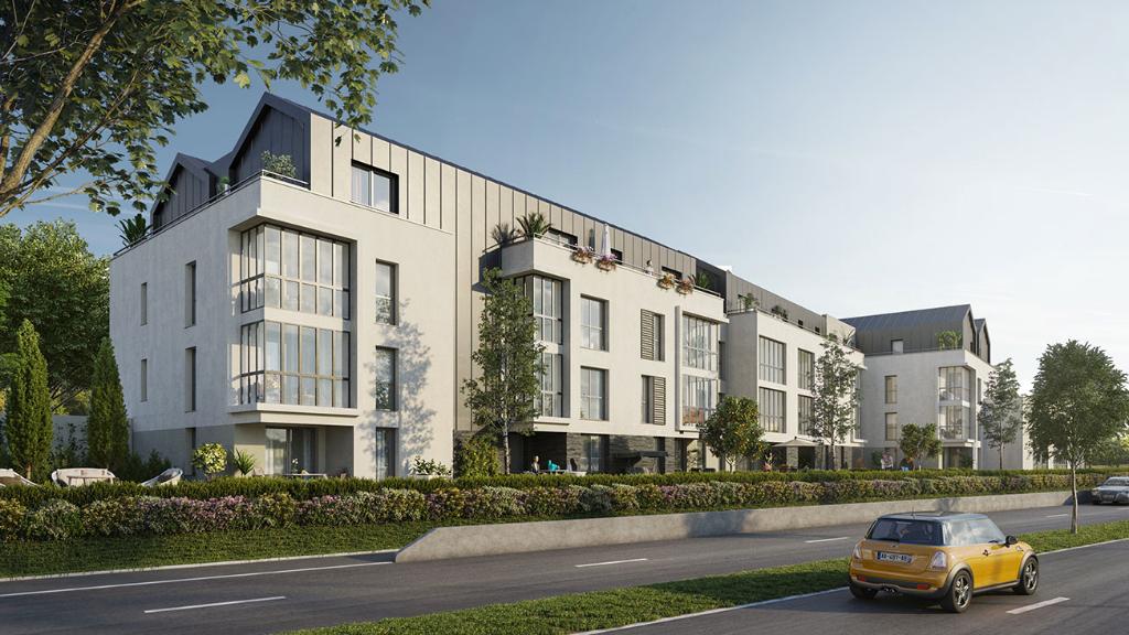 Appartement neuf trois pièces à Saint-Malo, quartier Sud de Saint-Servan