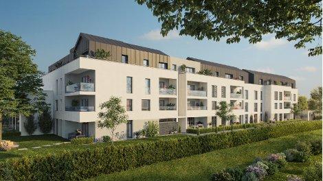 Appartement neuf Saint Malo quatre pièces au sud de St Servan