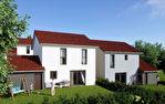 A vendre à Chaumont programme neuf l'ARC maison du T4 au T5 jusqu'à 95 m2 habitable + jardin privatif