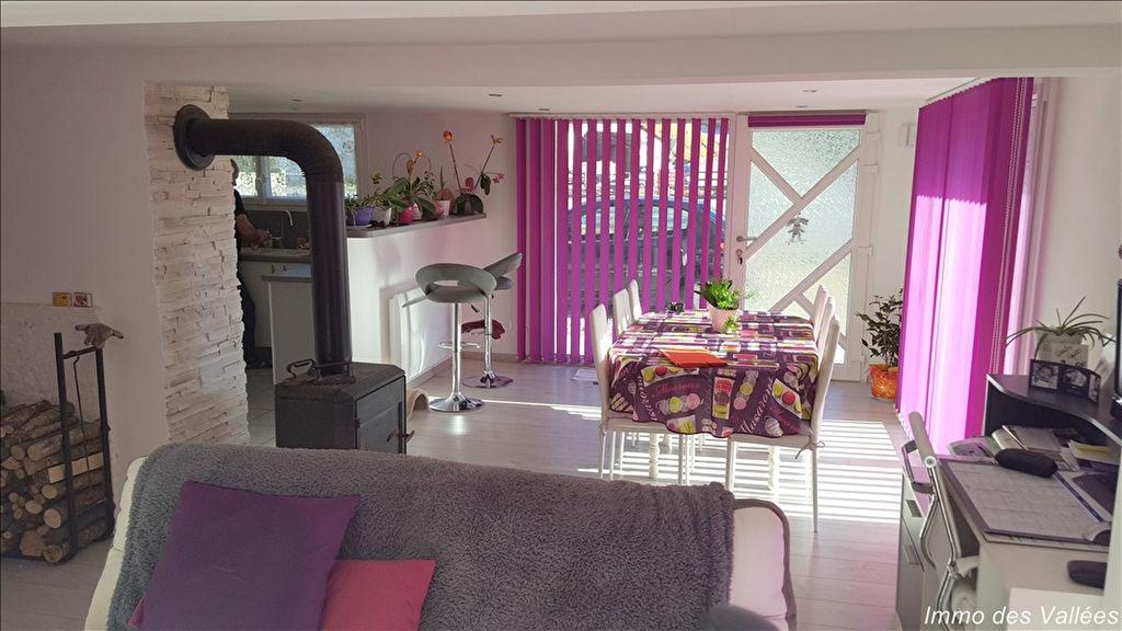 LA BRESSE - Appartement 86 m² état neuf avec garage et terrain