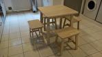 Dans T5 meublé entièrement rénové, chambre meublée TOUT CONFORT