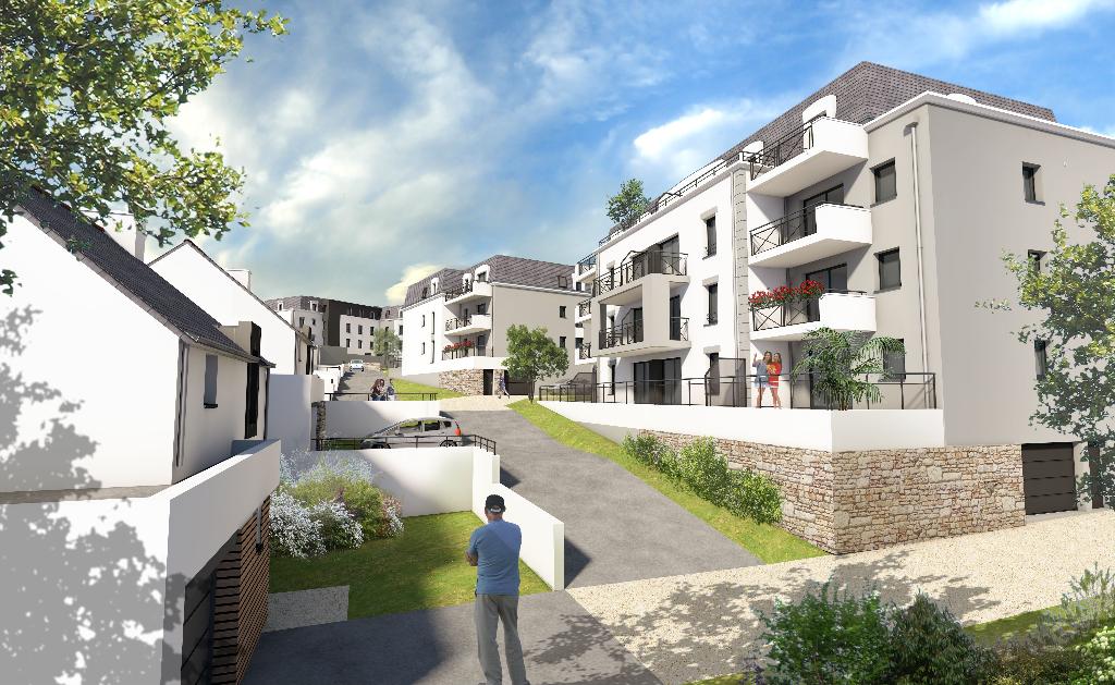 A VENDRE FOUESNANT PLEIN CENTRE  - Appartement T2 43,98 m²
