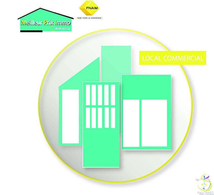 A VENDRE - MURS COMMERCIAUX DE 120 m² + 60 m² (mezzanine) - ZONE COMMERCIALE TRÈS DYNAMIQUE