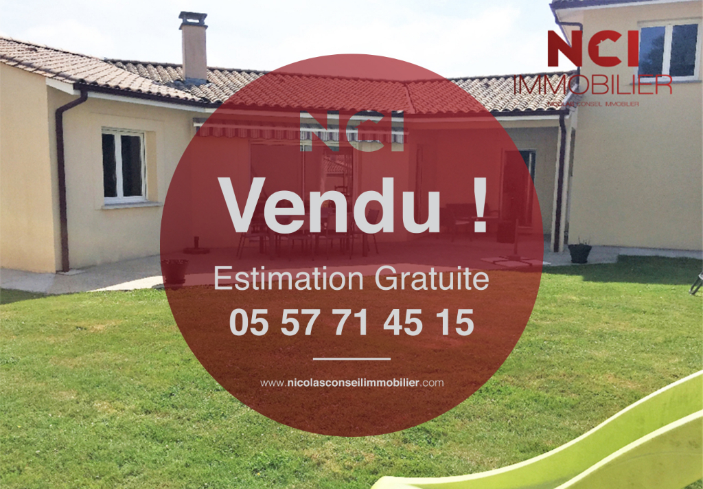 Une nouvelle maison située à SADIRAC vendue par votre Agence NCI !!