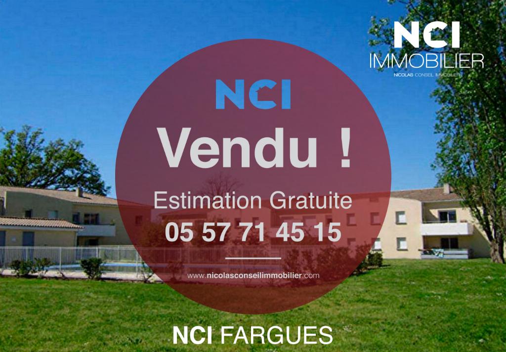 Appartement Fargues Saint Hilaire 2 pièce(s) 32.74 m2