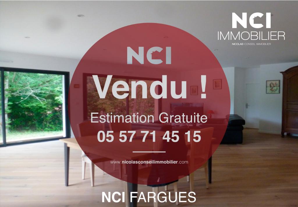 Une nouvelle maison contemporaine sur Salleboeuf vendue par votre Agence NCI !!