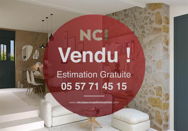 Une nouvelle maison située à Saint Caprais de Bordeaux vendue par votre Agence NCI !!