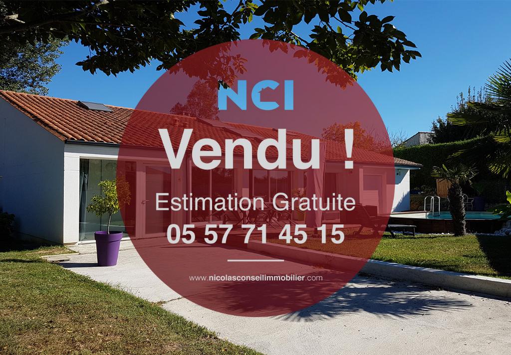 EN EXCLUSIVITÉ Maison Pompignac 8 pièce(s) 140 m2