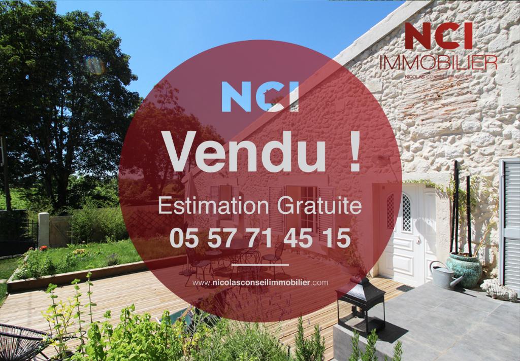 Une nouvelle maison située à Quinsac vendue par votre Agence NCI !!