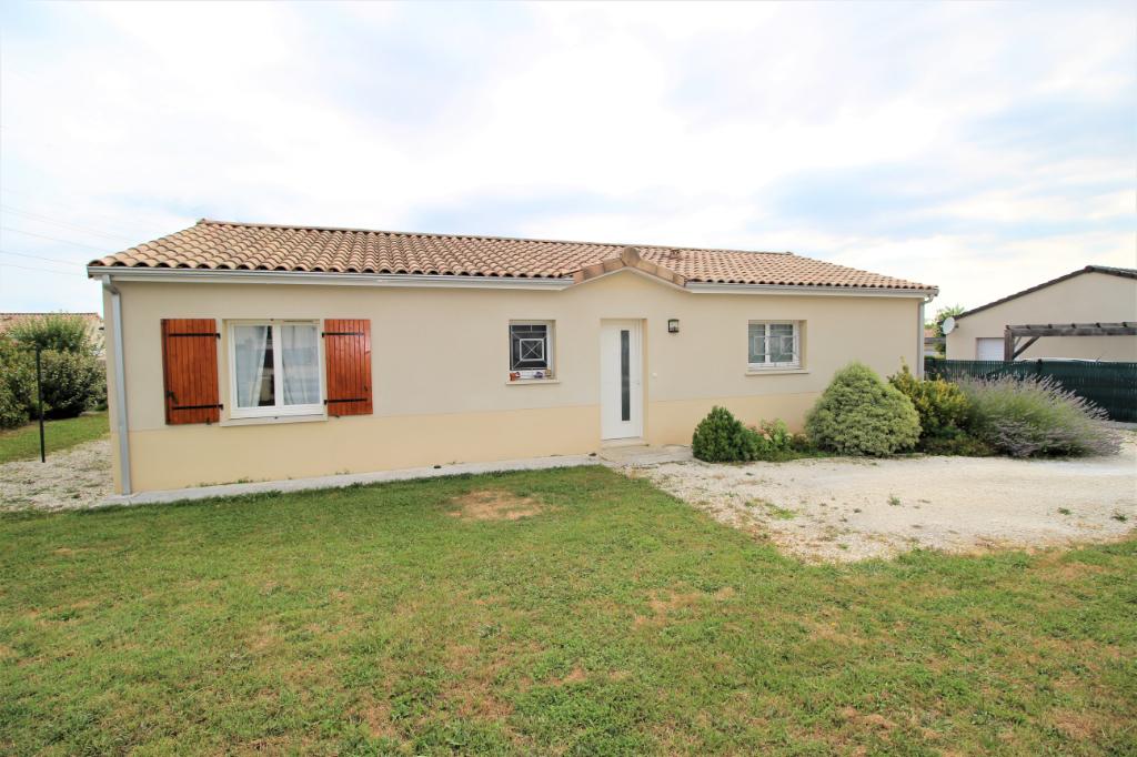 Maison recente à vendre à 5 mn du centre  de Camblanes et Meynac