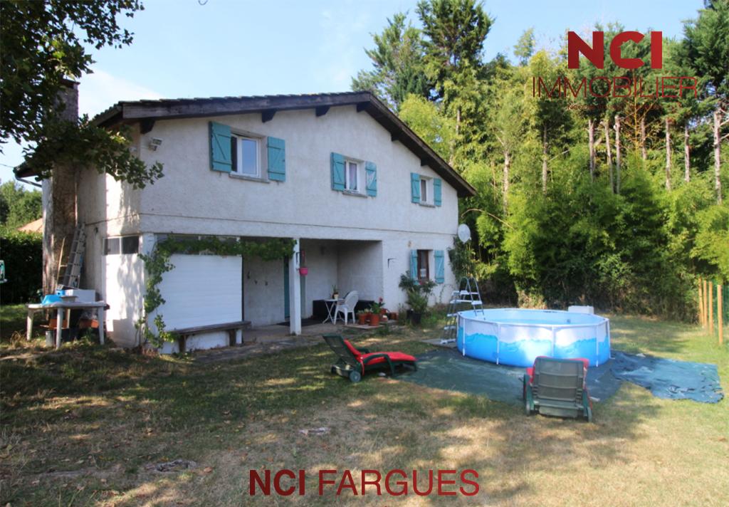EN EXCLUSIVITÉ Maison à 7 mn de FARGUES - 5 pièce(s) 126 m2