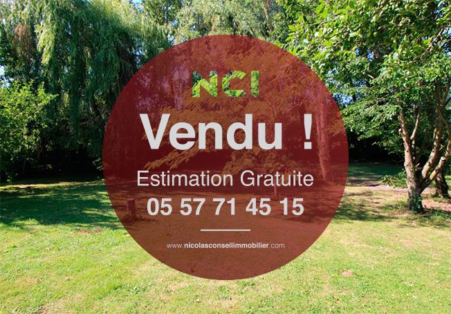TERRAIN A VENDRE DE 1260M²  - PROCHE FARGUES 12 min