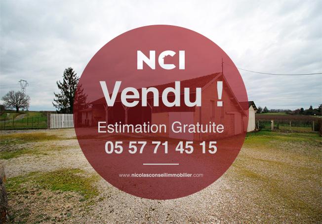 ENCORE VENDU PAR VOTRE AGENCE NCI DE FARGUES ST HILAIRE!!! Chai en pierre à Guillac
