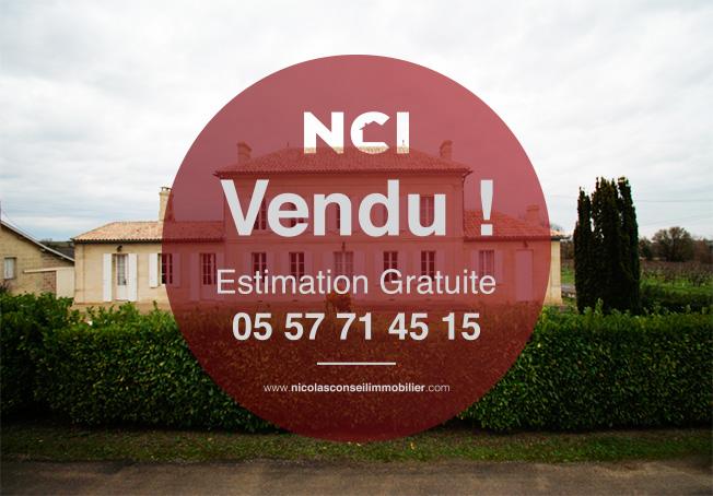 ENCORE UN BIEN VENDU PAR VOTRE AGENCE NCI !!!!!!!Maison de maître 7 pièce(s) 178 m2 à 5 min de Saint Quentin de Baron