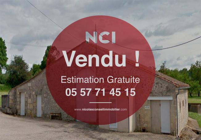 ENCORE VENDU PAR VOTRE AGENCE NCI DE FARGUES ST HILAIRE!! Chai en pierre
