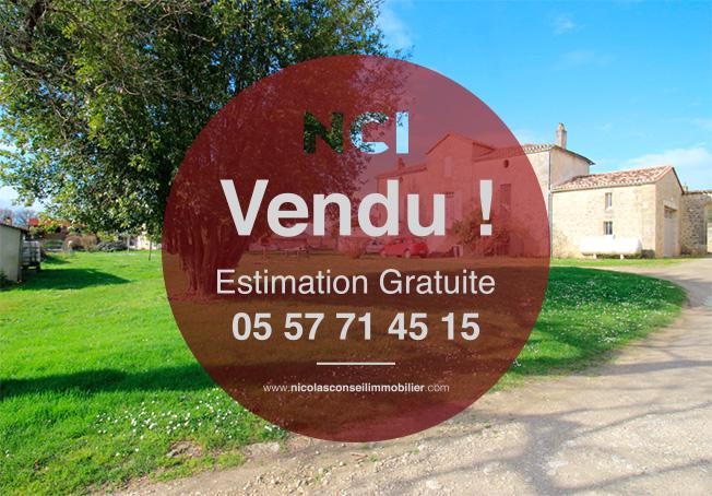 ENCORE UN BIEN VENDU PAR VOTRE AGENCE NCI SUR LA COMMUNE DE GREZILLAC !!!!