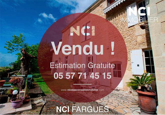 ENCORE VENDU PAR VOTRE AGENCE NCI DE FARGUES ST HILAIRE SUR LA COMMUNE DE FLOIRAC!!!