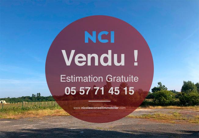 ENCORE UN TERRAIN VENDU SUR LA COMMUNE DE FARGUES ST HILAIRE PAR VOTRE AGENCE NCI !!!!