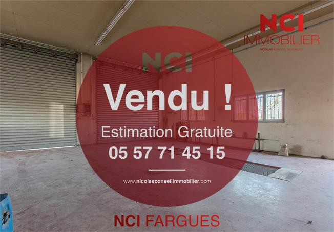 Encore vendu par votre Agence NCI de Fargues St Hilaire !!