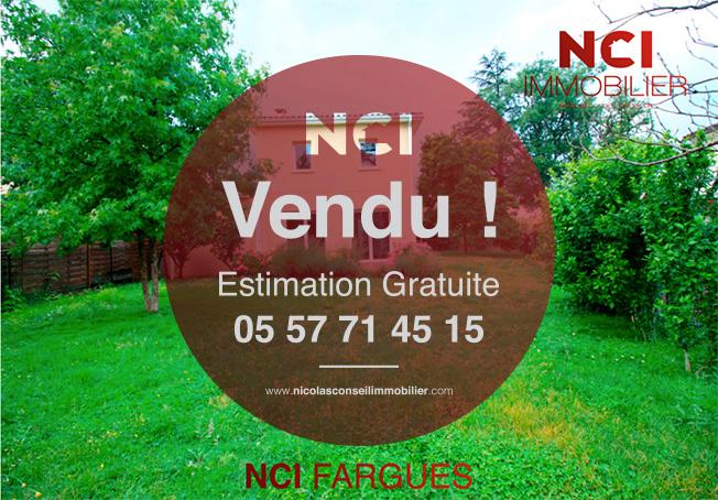 ENCORE UNE MAISON VENDUE PAR VOTRE AGENCE NCI !!!!