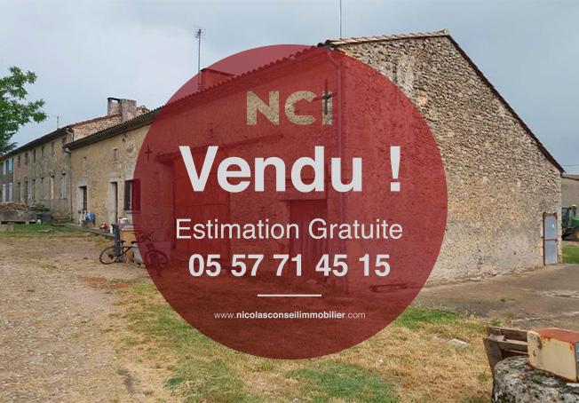 EN EXCLUSIVITE !!!! ENCORE UN BIEN VENDU PAR NCI FARGUES SUR LA COMMUNE DE GORNAC  !!!!!!