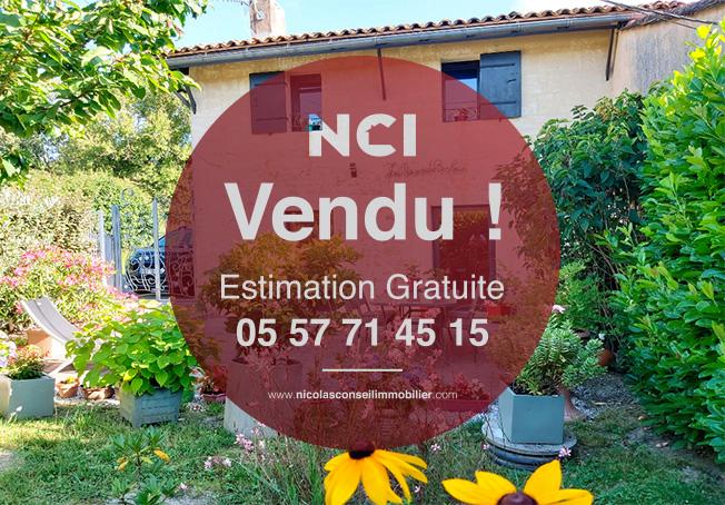 ENCORE UN BIEN VENDU SUR LA COMMUNE DE FARGUES ST HILAIRE !!!!