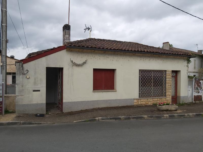 Maison  1 pièce(s) 34 m2 Secteur Castillon la Bataille