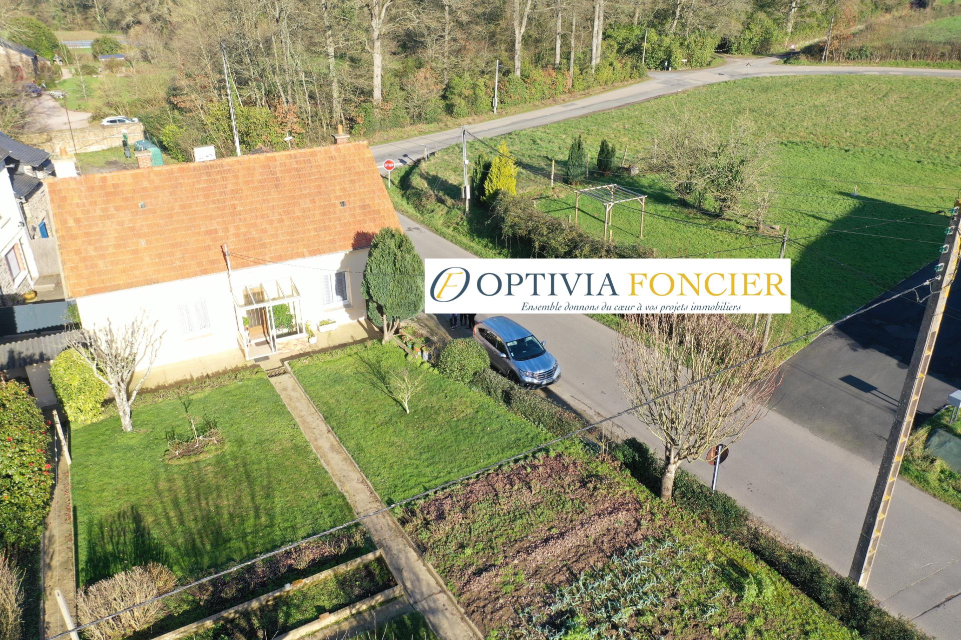Maison Pont Rean T2 - 63 m² mais potentiel de 105 m² environ - 845 m² de terrain