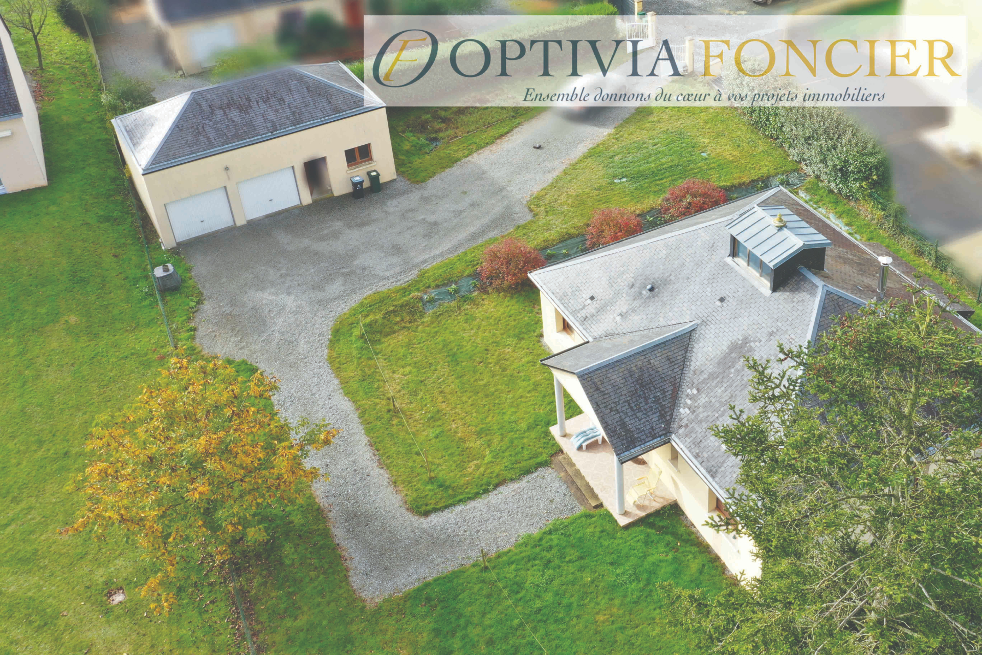 Maison de plain-pied de 120 m² - Terrain 985 m²  GUIGNEN