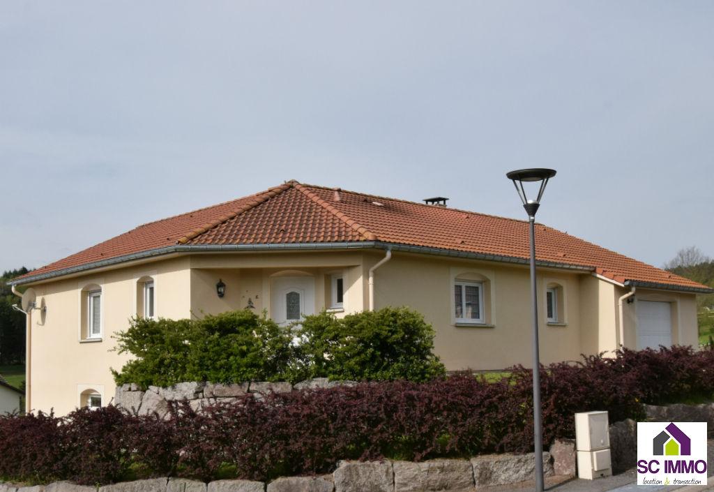 Maison plain pied, balcon terrasse - Saulcy Sur Meurthe