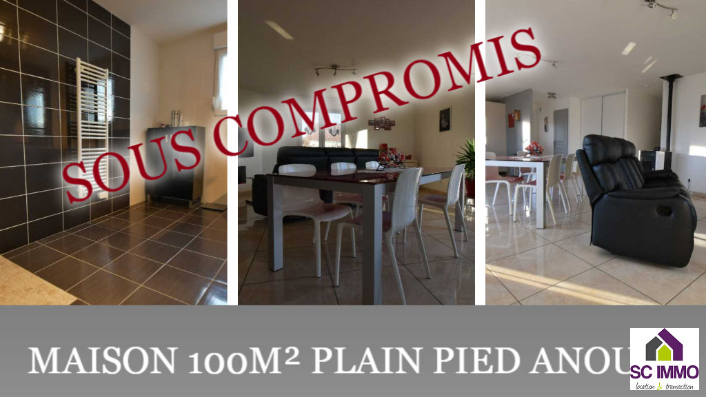 Anould - Maison plain-pied 108m²