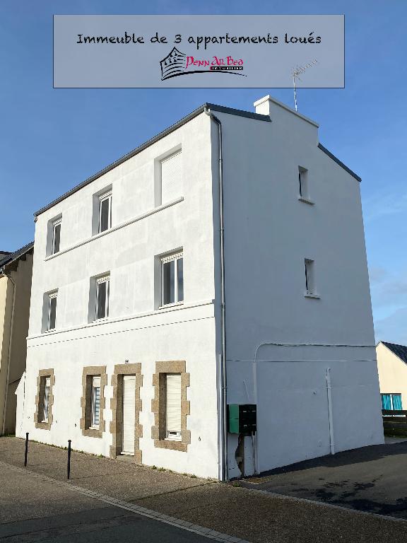 Immeuble  de 3 appartements loués - Plouarzel Bourg