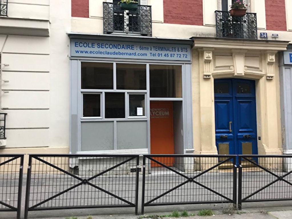 Local commercial 24 m2 75005 paris