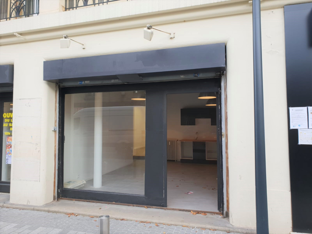 Local commercial 58m² 92600 Asnières Sur Seine