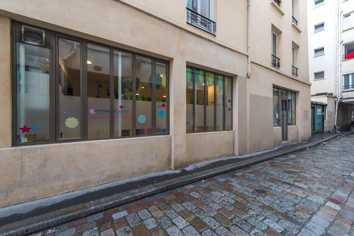 Local commercial de 158.5m² paris 11ème