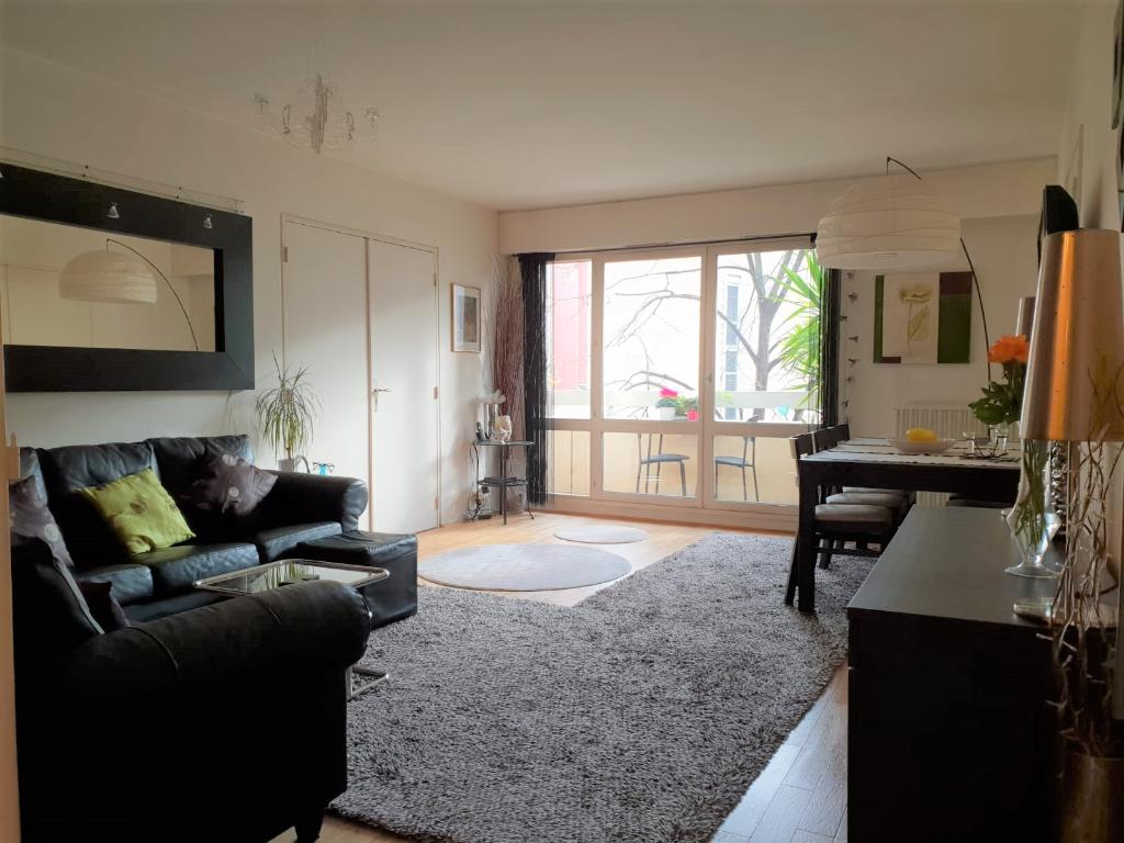 Appartement + Balcon 3 Pièces 69m² paris 19ème