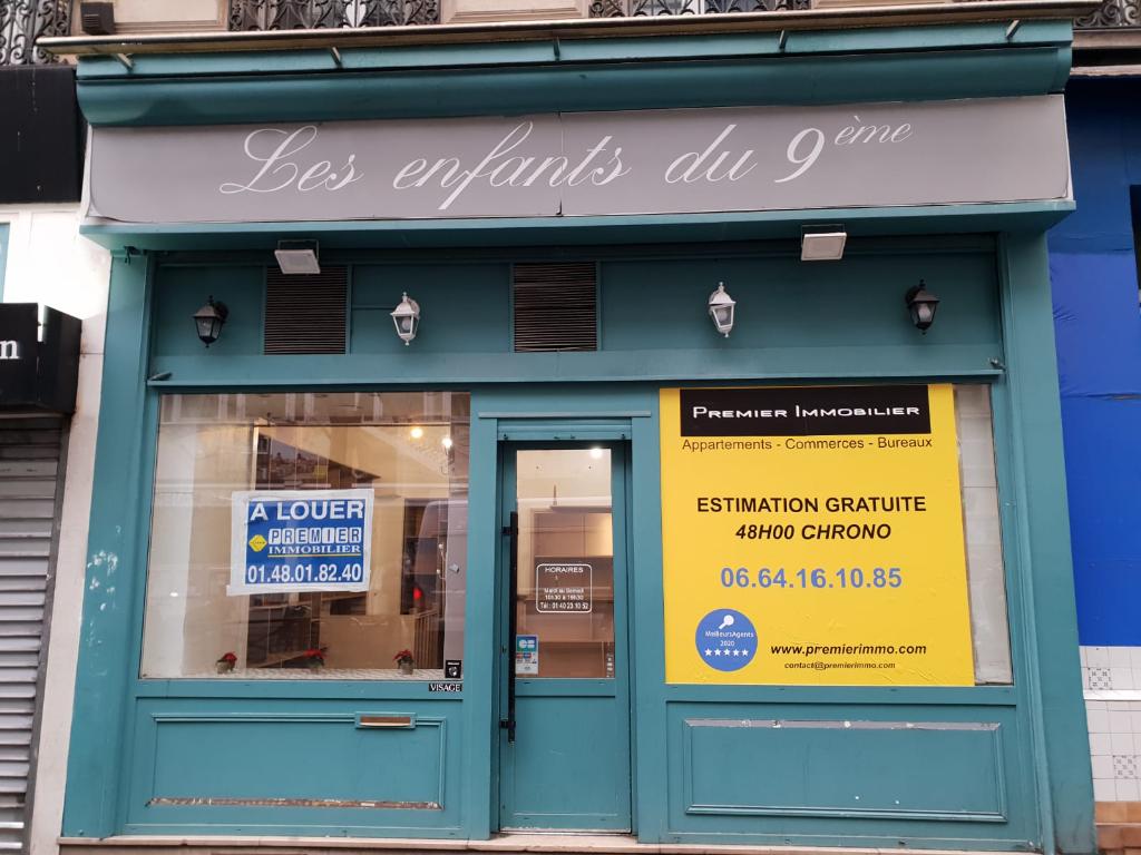 Local commercial 46M² 75009 Paris