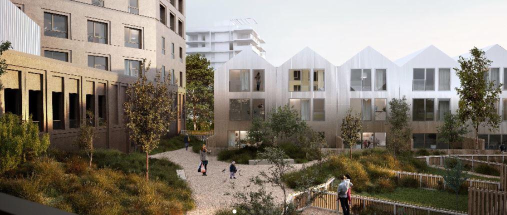 Rennes BAUD CHARDONNET, Appartement duplex T5 Neuf