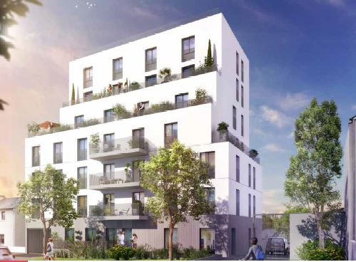 Appartement Neuf, T3 Rennes,