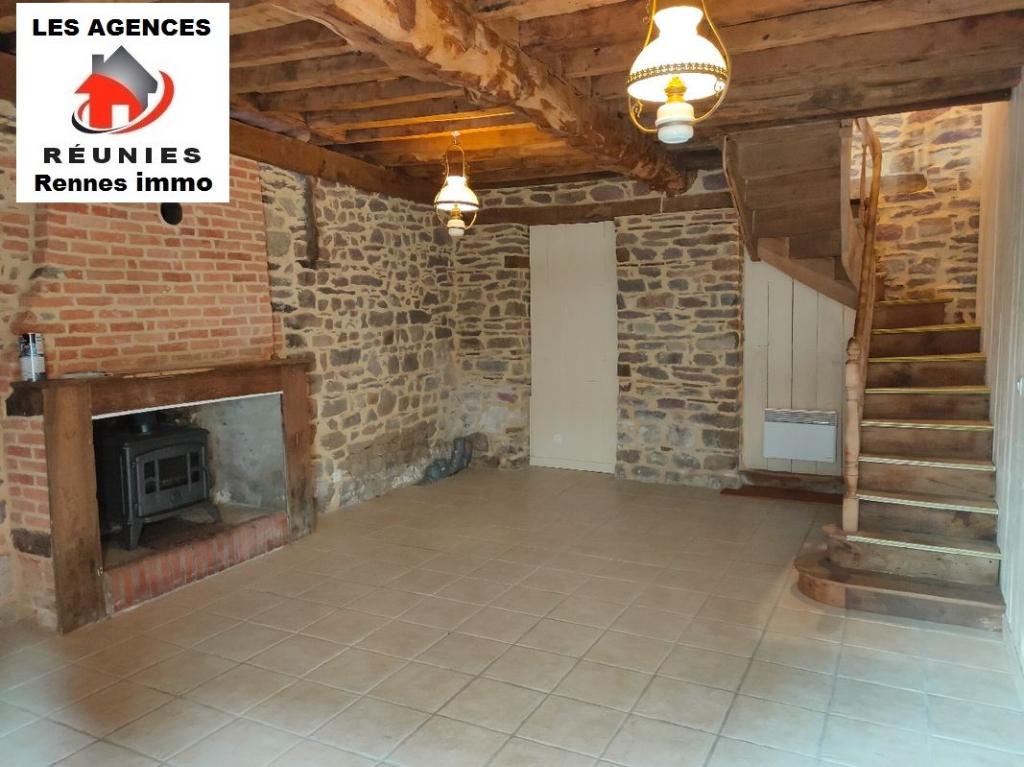 A Vendre Maison de Bourg Bréal-Sous-Monfort 2 chambres