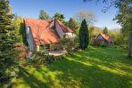 TEXT_PHOTO 0 - À vendre à 10 minutes d'Amiens - Pavillon d'architecte, terrain arboré, 4 chambres + grenier, sous-sol, garage