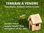 TEXT_PHOTO 0 - A vendre - Saint Gratien, 10 minutes d'Amiens. Terrain hors lotissement, libre de constructeur, 818 m²